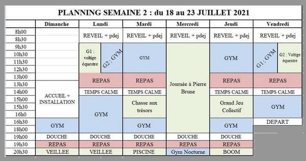SEMAINE 2